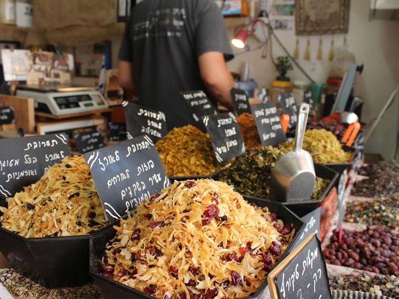 סיפורים וטעמים בין כרם התימנים לשוק הכרמל