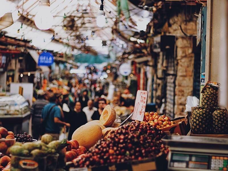 סיור בשוק מחנה יהודה